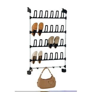 Organize It All 5-Tier 12 Pair Overdoor S..