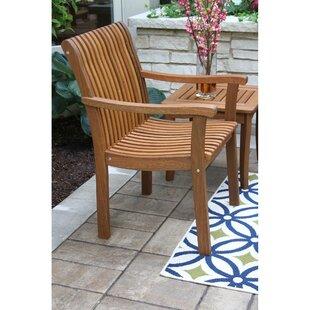 Outdoor Interiors Venetian Teak Patio chair
