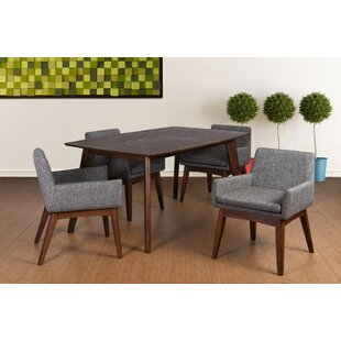 Bohostice 5 Piece Dining Set by Latitude Run Today Only Sale