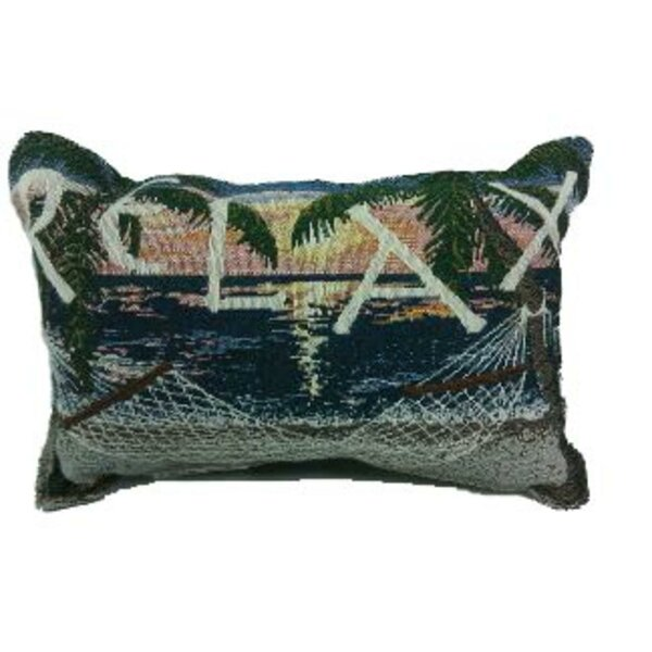Bay Isle Home Robyn Sunset Sails Relax Hammock Decorative Tapestry Best Relax Decorative Pillow
