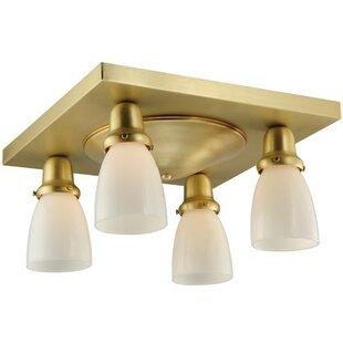 Meyda Tiffany Alcove 4-Light Flush Mount