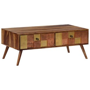 Wellston Coffee Table With Storage By Bloomsbury Market