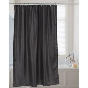 brown and black shower curtain. Highgate Faux Silk Shower Curtain  Black Curtains You ll Love Wayfair
