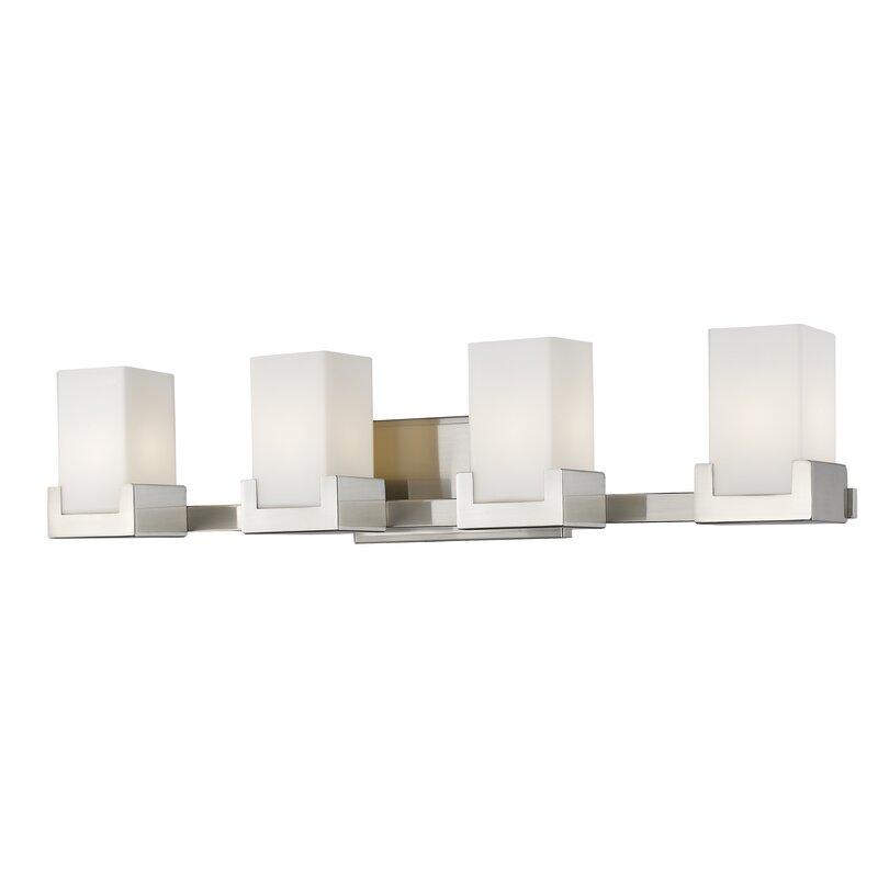 led vanity light bar mirror suffield 4light led vanity light latitude run wayfair