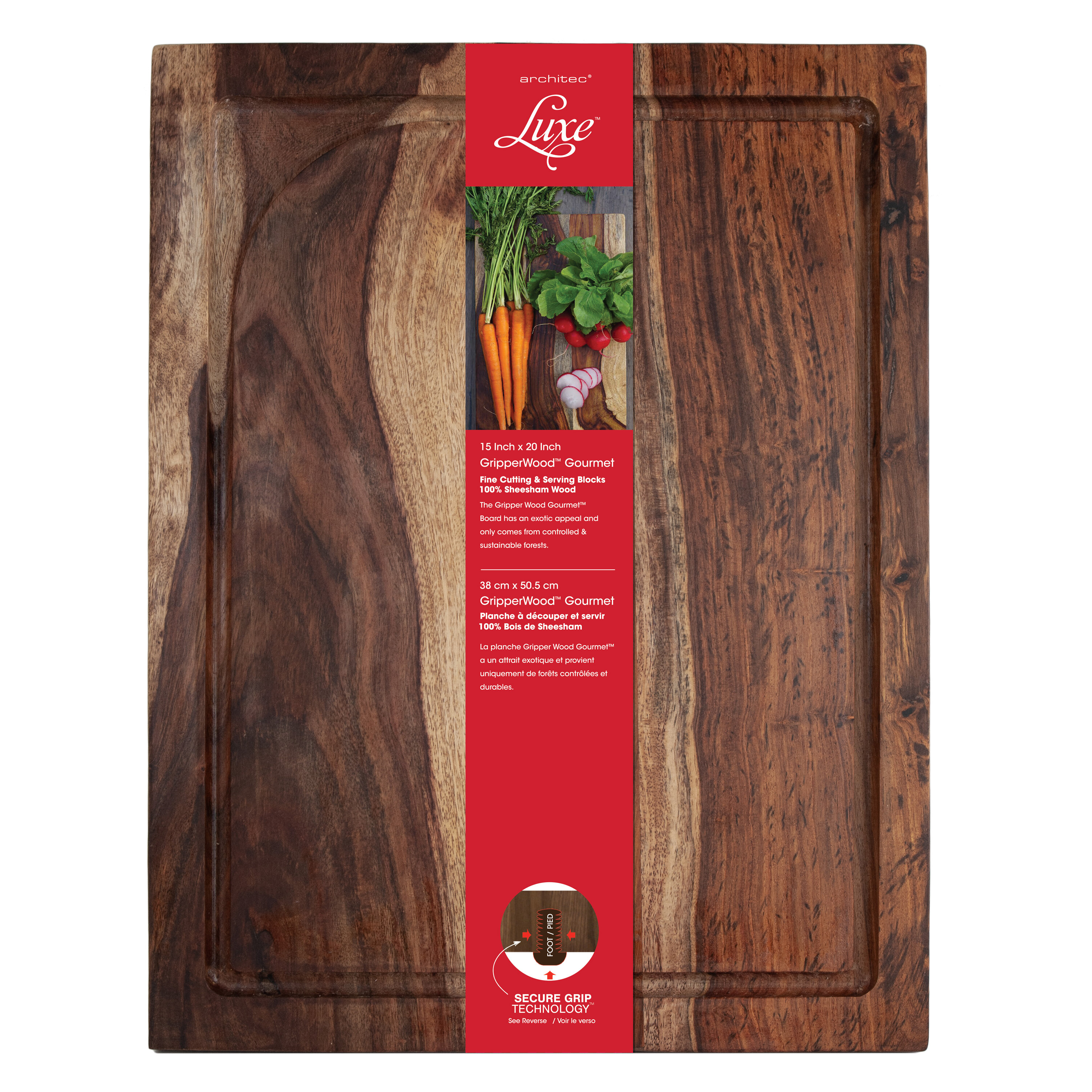 Architec Sheesham Wood Gourmet Cutting Board Reviews Wayfair