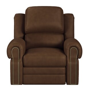 Hilltop Leather Manual Recliner