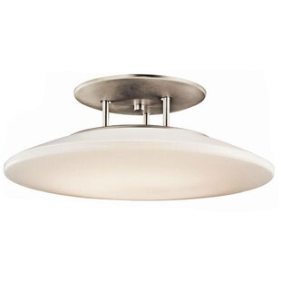 Kichler Ara 1-Light Semi Flush Mount