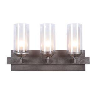 Reviews Fludd 3-Light Vanity Light By Brayden Studio