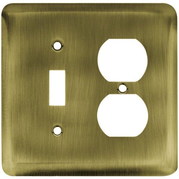 Stamped Steel Round Single Switch/Duplex