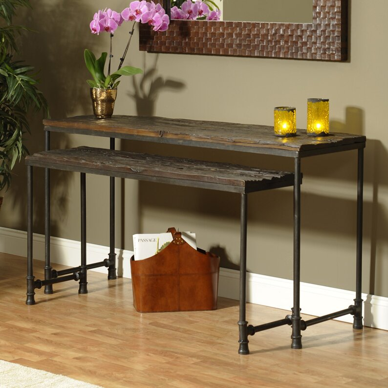 William Sheppee Saal Piece Nesting Console Table Set Reviews - Coffee table end table console table set