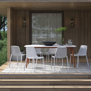 Claudio 7 Piece Dining Set by Mercury Row