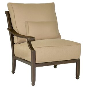 Grand Regent Right End Patio Chair with Cushion