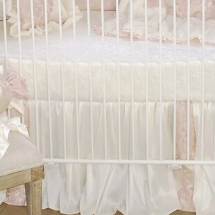 Low priced Blush Petal Fitted Crib Sheet By Blueberrie Kids