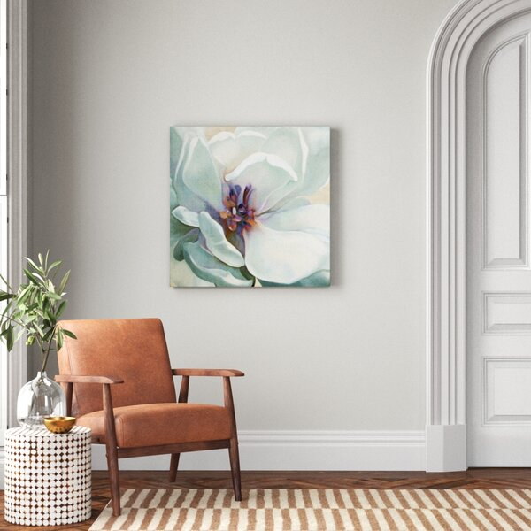 Iridescent Bloom I Wrapped Canvas Print On Canvas Reviews Joss Main