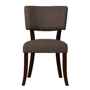 Red Barrel Studio Larochelle Solid Back Side Chair (Set of 2)