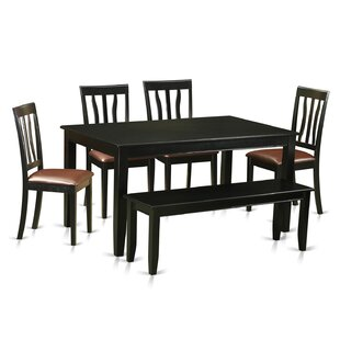Dudley 6 Piece Dining Set by Wooden Impor..