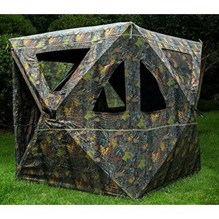 Sunrise Outdoor LTD Camouflage Blind Ground Deer Archery Outhouse Camo Hunting Shooting Pop-Up Play Tent