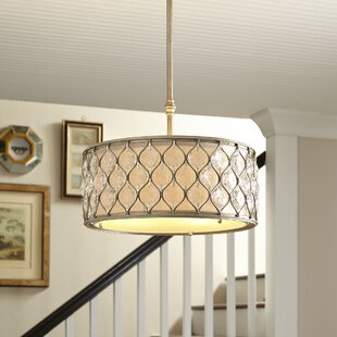 Augusta Lighting 3-Light Drum Pendant by Birch Lane? Heritage