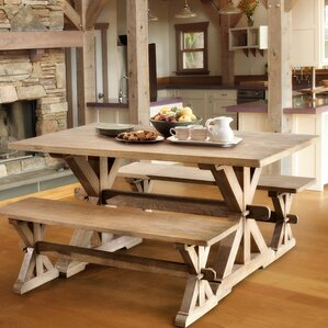 Andr? Wood Dining Table by One Allium Way