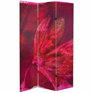 Molly 3 Panel Room Divider by World Menagerie