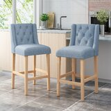 Dalila Bar & Counter Stool (Set of 2) by Red Barrel Studio®