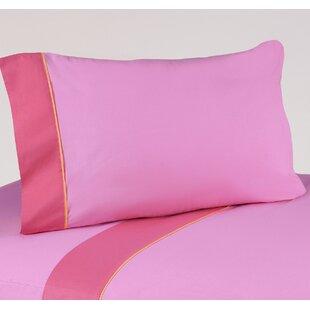 Sweet Jojo Designs Butterfly 3 Piece 100% Cotton Twin Sheet Set
