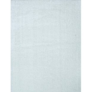 Read Reviews Shaggy White Area Rug By Samnm Trade
