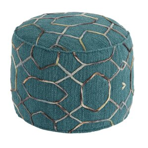Overdyed Pouf Ottoman by Signature Design by Ashley