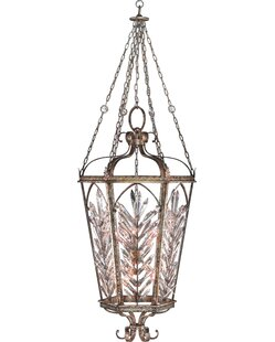 Winter Palace 10-Light Foyer Pendant by Fine Art Lamps