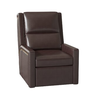 Norman Leather Wall Hugger Recliner By Bradington-Young