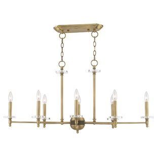 Hanley Linear 8-Light Candle Style Chandelier