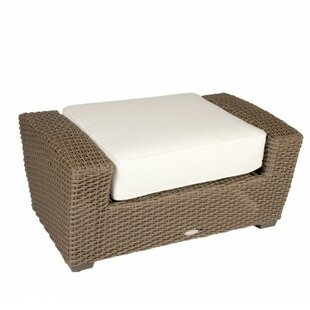 Woodard Augusta Ottoman with Cushion