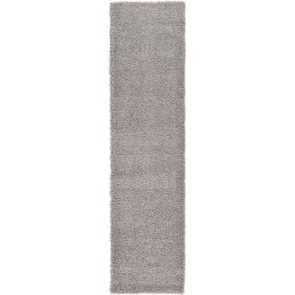 Andover Mills Mariposa Power Loom Gray Rug Reviews Wayfair