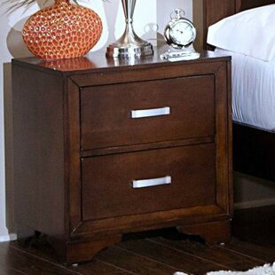 Red Barrel Studio Engle 2 Drawer Nightstand