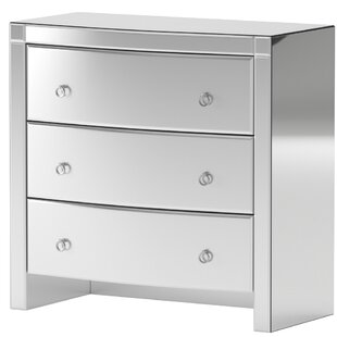 Compare Stark 3 Drawer Media Chest by House of Hampton