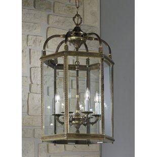 Classic Lighting European 6-Light Outdoor Pendant
