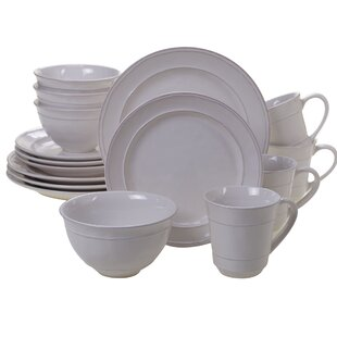 Artim 16 Piece Dinnerware Set, Service for 4