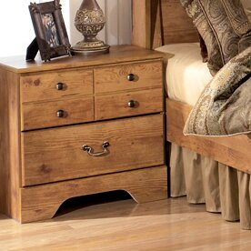August Grove Cheyanne 2 Drawer Nightstand