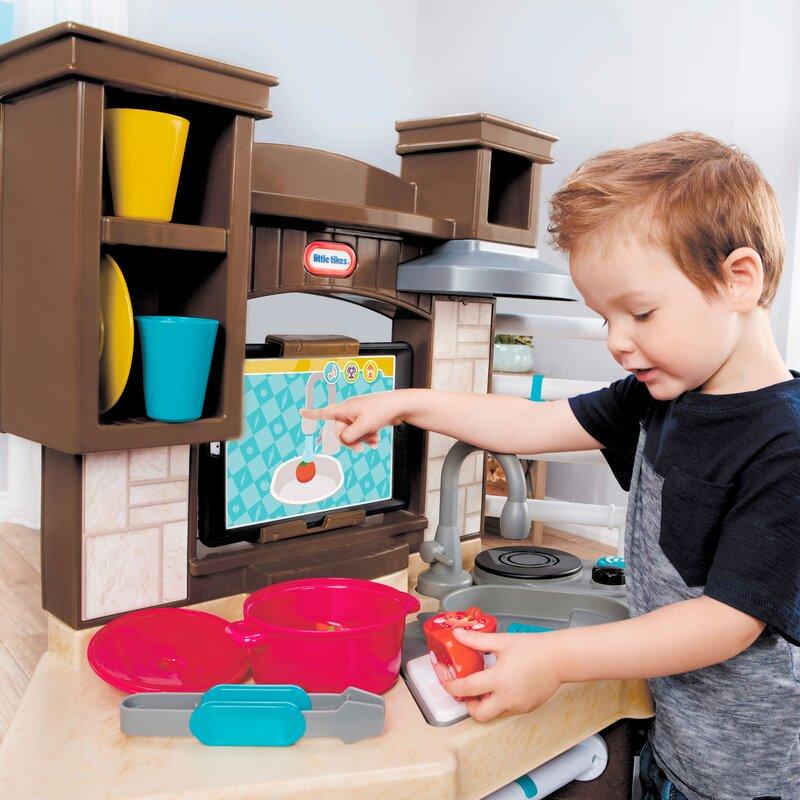 Little Tikes Cook 'n Learn Smart Kitchen Set & Reviews | Wayfair on