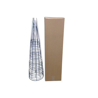 Plant Support Glamos Wire Size: 54 H x 16 W x 16 D, Color: Sapphire Blue
