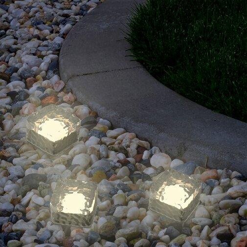 Ice Cube 1-Light LED Pathway Light