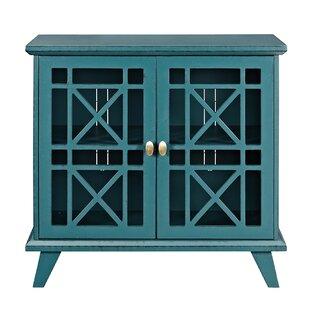 Matheus Fretwork 2 Door Accent Cabinet