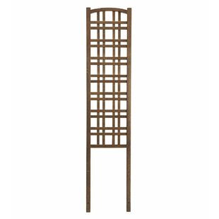 Plow & Hearth Outdoor Wood Lattice Panel Trellis