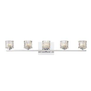 Moralez 5-Light Vanity Light by House of Hampton