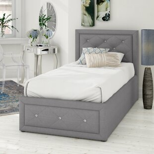 Anatase Crystal Upholstered Ottoman Bed By Fairmont Park