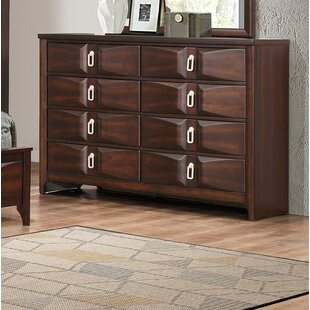 World Menagerie Redbrook 8 Drawer Double Dre..