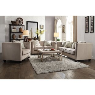 Rosdorf Park Borasisi 3 Piece Living Room..