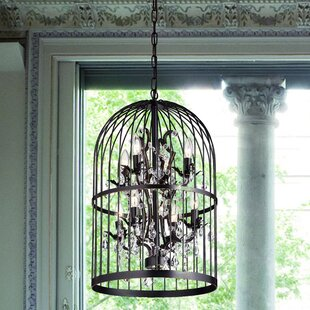 Ophelia & Co. Jaquez 8-Light Lantern Pendant