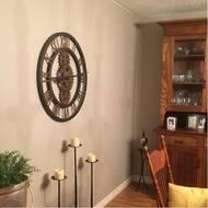Oversized 30 Crosby Wall Clock Reviews Allmodern