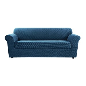 Stretch Grand Marrakesh Box Cushion Loveseat..